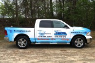 Custom Vinyl Pickup Truck Wrap